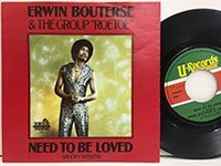 Erwin Bouterse / Need to Be Loved - Groovy Weekend