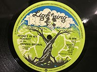 Dennis Brown / Money in My Pocket - Runnings Irie