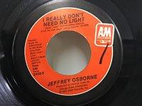 Jeffrey Osborne / One Million Kisses - I Really Don't Need No Light