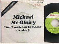 Michael Mc Gloiry / Wont You Let Me be the One - version2