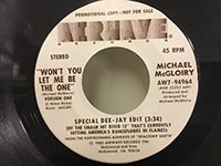 Michael McGloiry / Wont You Let Me Be the One