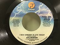Sylvester / I Need Somebody to Love Tonight - I