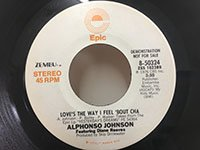Alphonso Johnson / Love's the Way I Feel Bout Cha