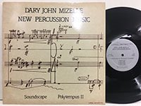 Dary John Mizzelle / New Percussion Music