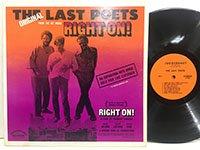 Last Poets / Right On