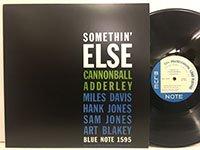 Cannonball Adderley / Somethin' Else [reissue/us mono]