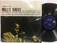 Miles Davis / and the Modern Jazz Giants