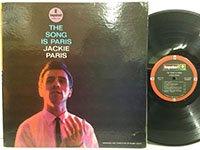 Jackie Paris / the Song is Paris