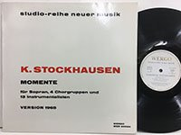 Karlheinz Stockhausen / Momente