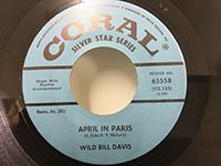 Wild Bill Davis / April in Paris - Manhattan