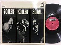 Attila Zoller Hans Koller Martial Solal / Zo Ko So