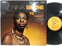 Nina Simone / to Love Somebody