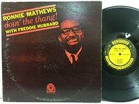 Ronnie Mathews / Doin' The Thang