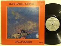 <b>Don Rader Quintet / Wallflower </b>