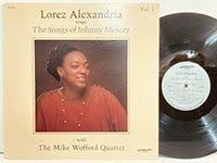 Lorez Alexandria / sings the Songs of Johnny Mercer