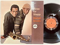 Marion Brown / Three for Shepp