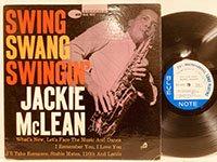Jackie McLean / Swing Swang Swingin'