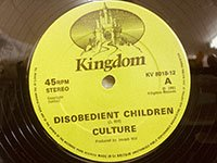 Culture / Disobedient Children