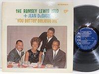 Ramsey Lewis Jean DuShon / You Better Believe Me