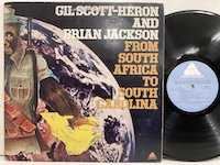 Gil Scott Heron Brian Jackson / From South Africa to South Carolina