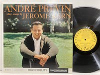 Andre Previn / plays Songs by Jerome Kern