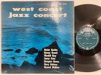 Wardell Gray Dexter Gordon / Jazz Concert West Coast