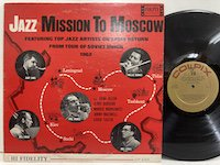Zoot Sims Phil Woods/ Jazz Mission to Moscow