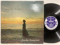 Claudia Thompson / Goodbye to Love
