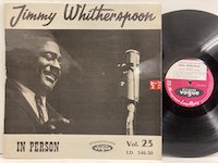 Jimmy Witherspoon / in Person