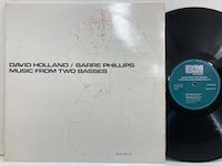 David Holland Barre Phillips / Music from Two Basses ecm1011st
