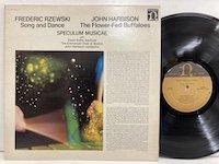 Frederic Rzewski John Harbison Speculum Musicae / Song and Dance