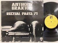 Anthony Braxton /  Recital Paris 1971
