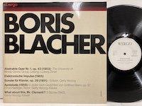 Boris Blacher / Abstrakte Oper Nr1 op46 wer60017