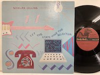 Nicolas Collins / Let The State Make the Selection