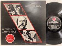 Tony Lee Trio / British Jazz Artists vol1