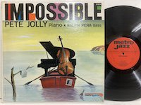 Pete Jolly / Impossible