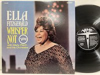 <b>Ella Fitzgerald / Whisper Not </b>