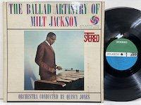 Milt Jackson / the Ballad Artistry of Milt Jackson