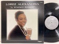 Lorez Alexandria / A Woman Knows