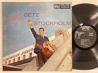Stan Getz / in Stockholm