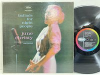 June Christy / Ballads for Night People