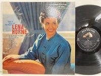 Lena Horne / Songs by Burke and Van Heusen