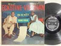 Sarah Vaughan/ Sing the Best of Irving Berlin