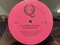 Ramona Brooks / I Don't Want You Back
