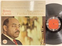 Benny Carter / Additions to Further Definitions