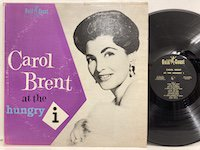 Carol Brent / at the Hungry I