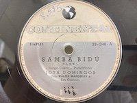 Jota Domingo / Samba Bidu