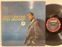Milt Jackson / Jazz'n'Samba