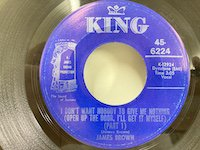 James Brown / I don't Want Nobody to Give Me Northing