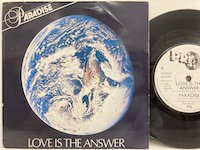 <b>Paradise / Love is the Answer </b>